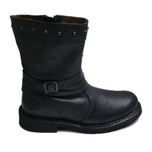 New Harley Davidson Mandy Slate Leather Moto Boots